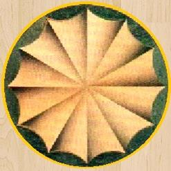 Round Fan Inlay