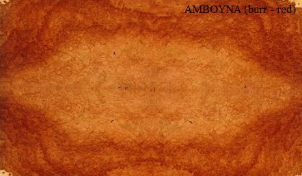 Amboyna Red Wood Veneer