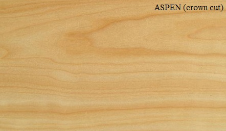 Aspen Crown Wood Veneer