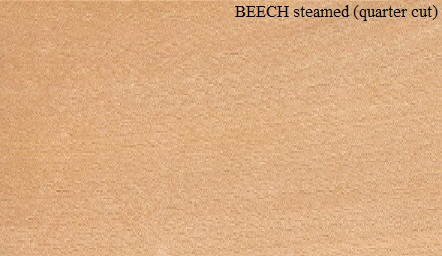 Steamed Beech Quartered