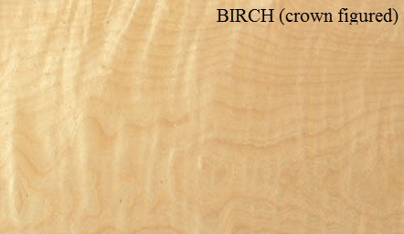 Birch Crown Figured Wood Veneer