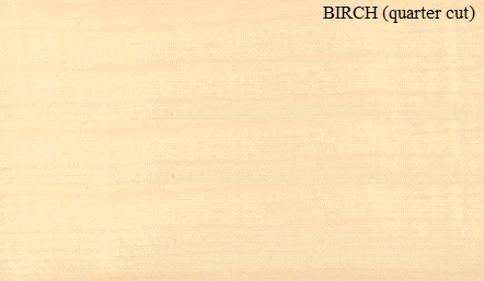 Birch Quartered Wood Veneer
