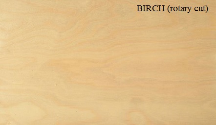 Birch Rotary Cut Wood Veneer