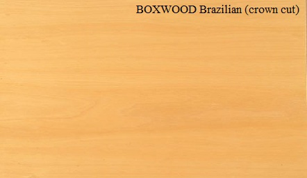 Boxwood Crown wood Veneer