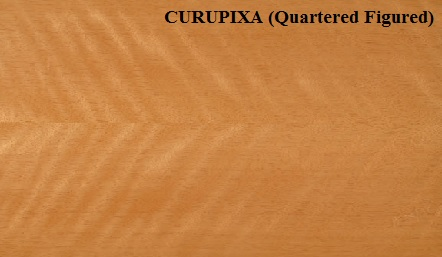 Curupixa Quartered Figured wood veneer