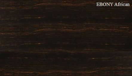 Ebony African Wood Veneer