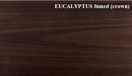 Eucalyptus Fumed Crown Wood Veneer