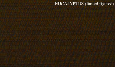 Eucalyptus Fumed Figured Wood Veneer