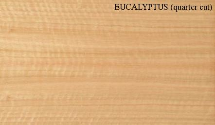 Eucalyptus Quartered Wood Veneer