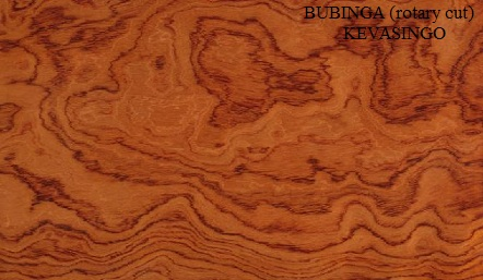 Kevasingo wood veneer