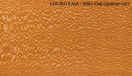 Louro Faia Silky Oak quarter cut wood veneer