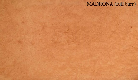 Madrona Full Burr Wood Veneer