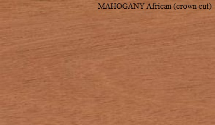 Mahogany African Crown Wood Veneer