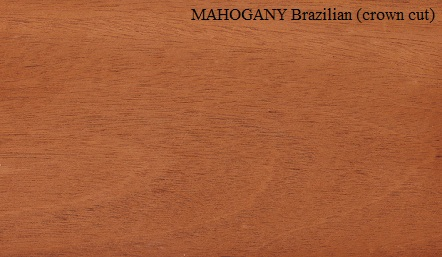Mahogany Brazilian Crown wood veneer