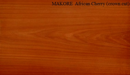 Makore Crown Wood Veneer