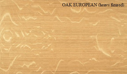 Oak European Quarter Cut Heavy Figured