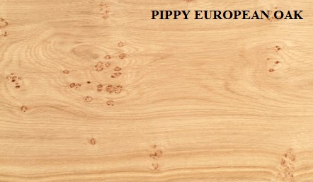 European Oak Pippy Crown Wood Veneer