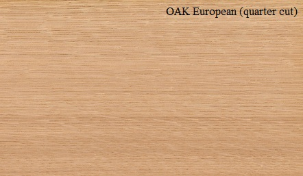 Oak European Quarter Cut