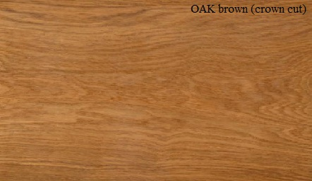 Oak Brown Crown wood veneer