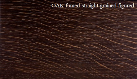 Fumed Oak Straight Grained Wood Veneer