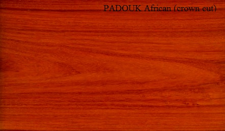 Padouk African Crown Wood Veneer
