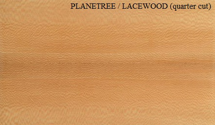 Lacetree Quartered wood veneer