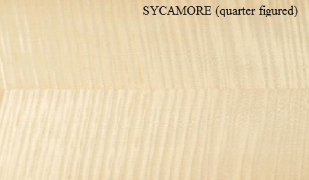 Sycamore Quarter Figured Wood Veneer