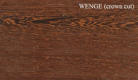 Wenge Crown Cut